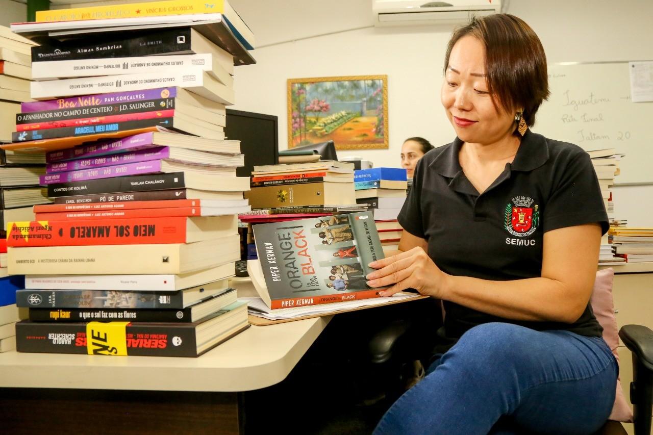Bibliotecas municipais recebem quase mil livros novos