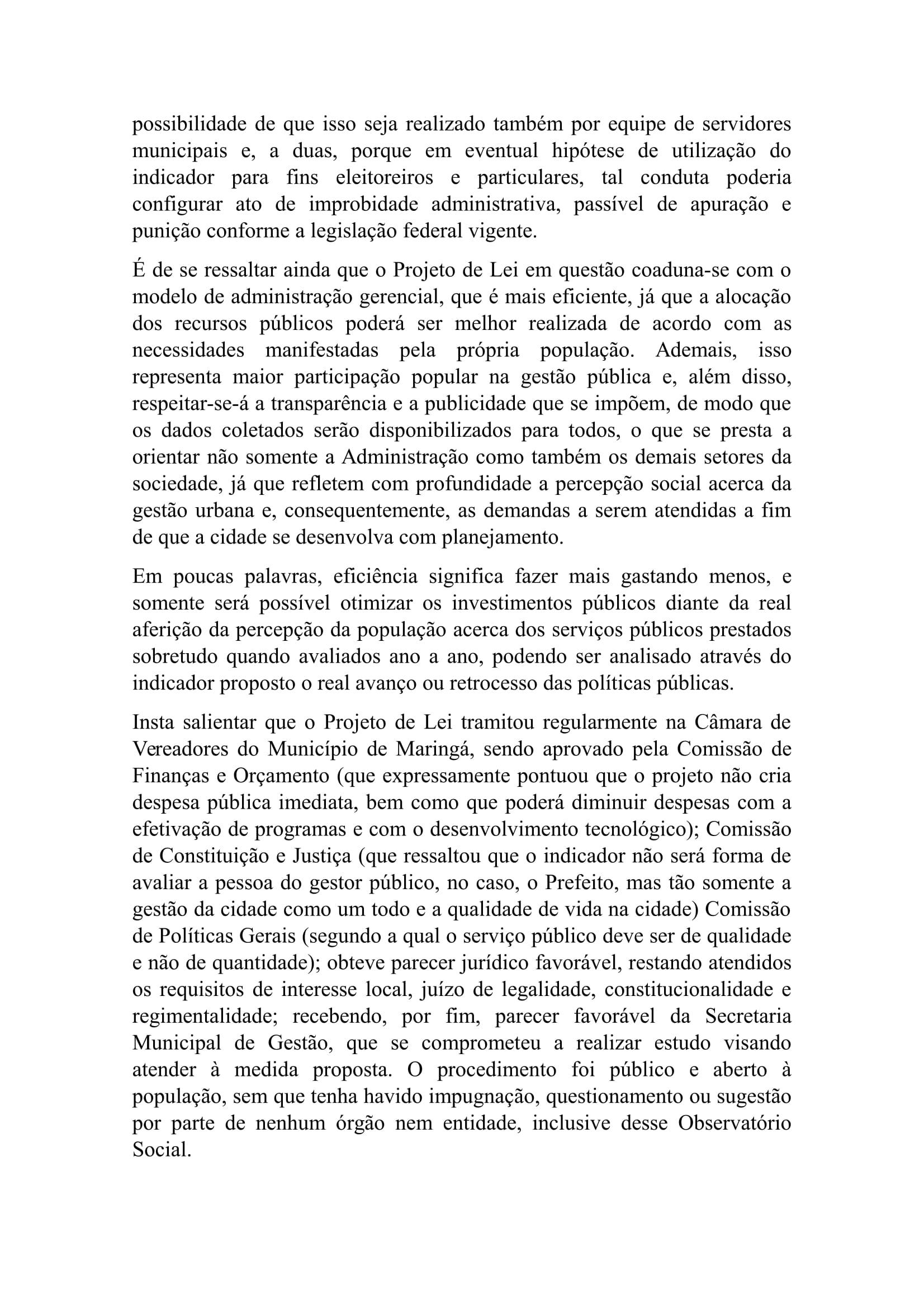 Nota do Vereador Sidnei Telles
