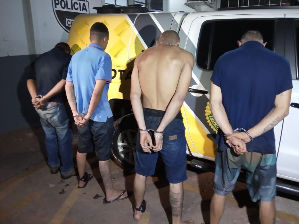 Cinco suspeitos de furtar residências em Sarandi são presos