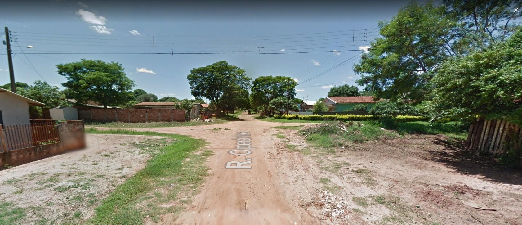 Foto do local do acidente - Google Street View