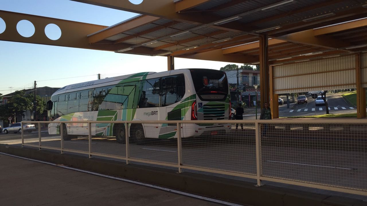 Liberados corredores exclusivos para ônibus na Kakogawa