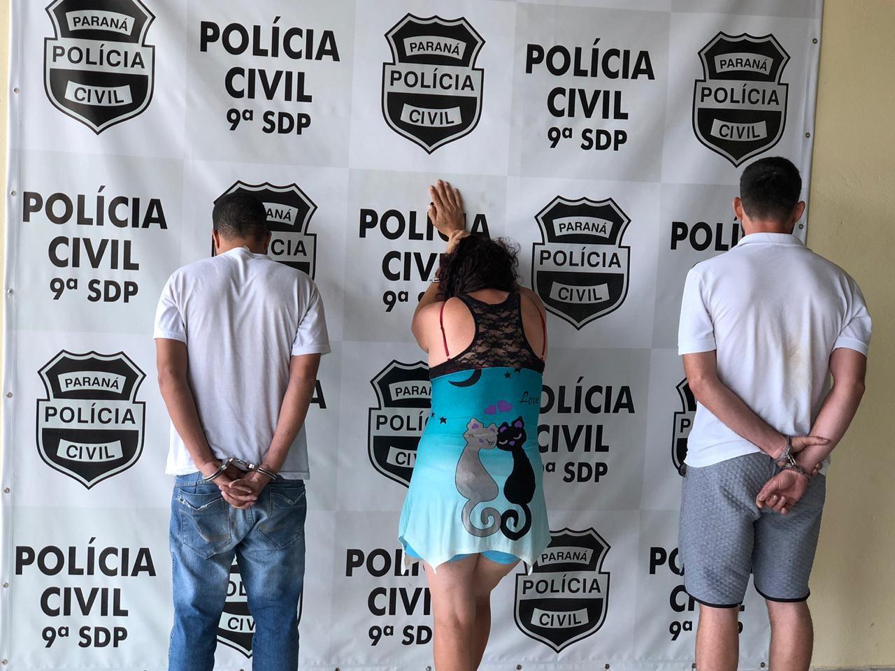 Três são presos em operação contra furtos e roubos