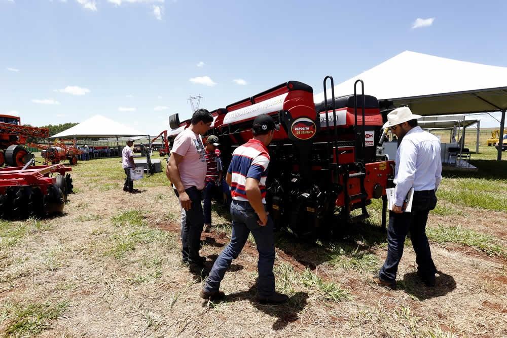 Safratec aposta no maquinário tecnológico para o campo