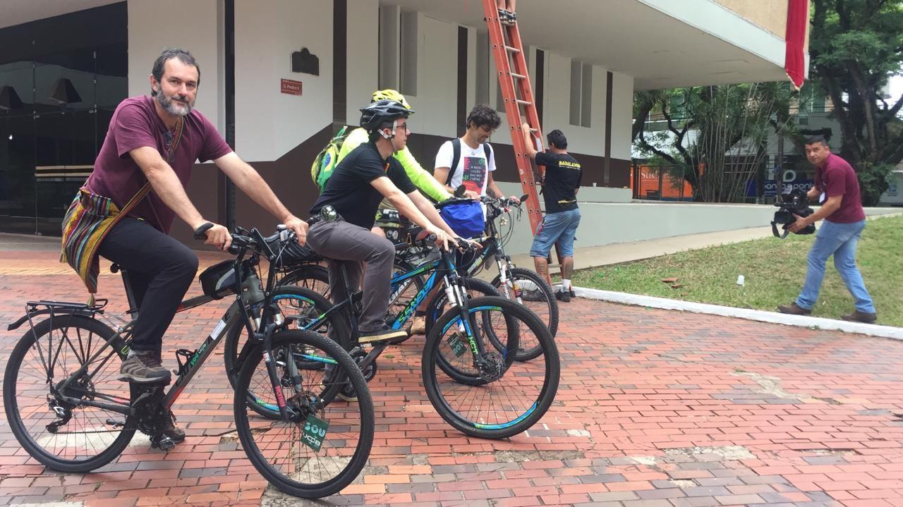 A bicicleta é destaque em Maringá