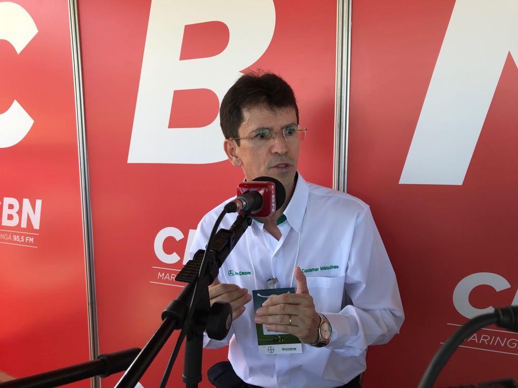 Em período de preço médio ou baixo, o investimento na lavoura faz a diferença para o produtor, diz o vice-presidente da Cocamar, José Cícero Aderaldo