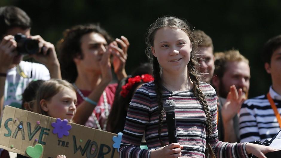 Greta Thunberg está em NY para cúpula da ONU sobre ação climática