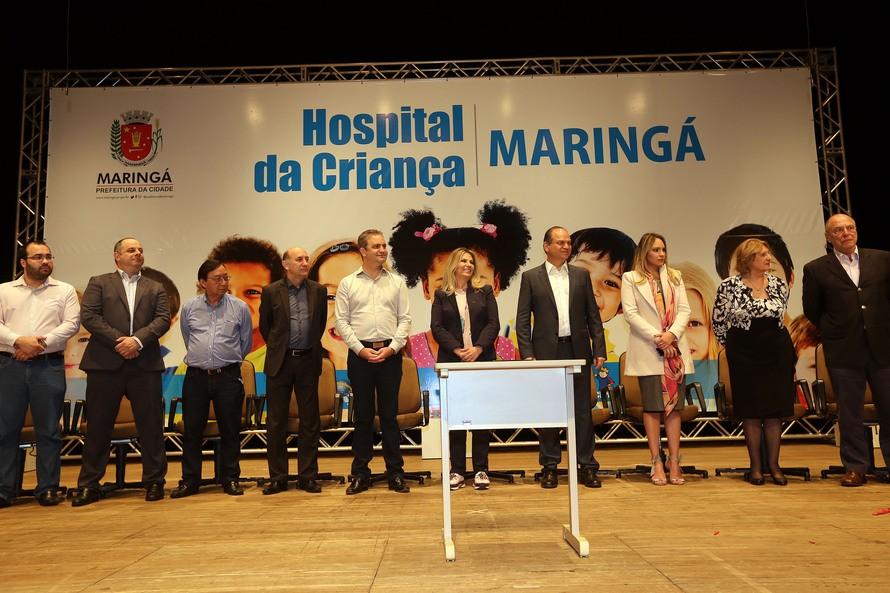 Hospital da Criança de Maringá já tem R$ 49 mi