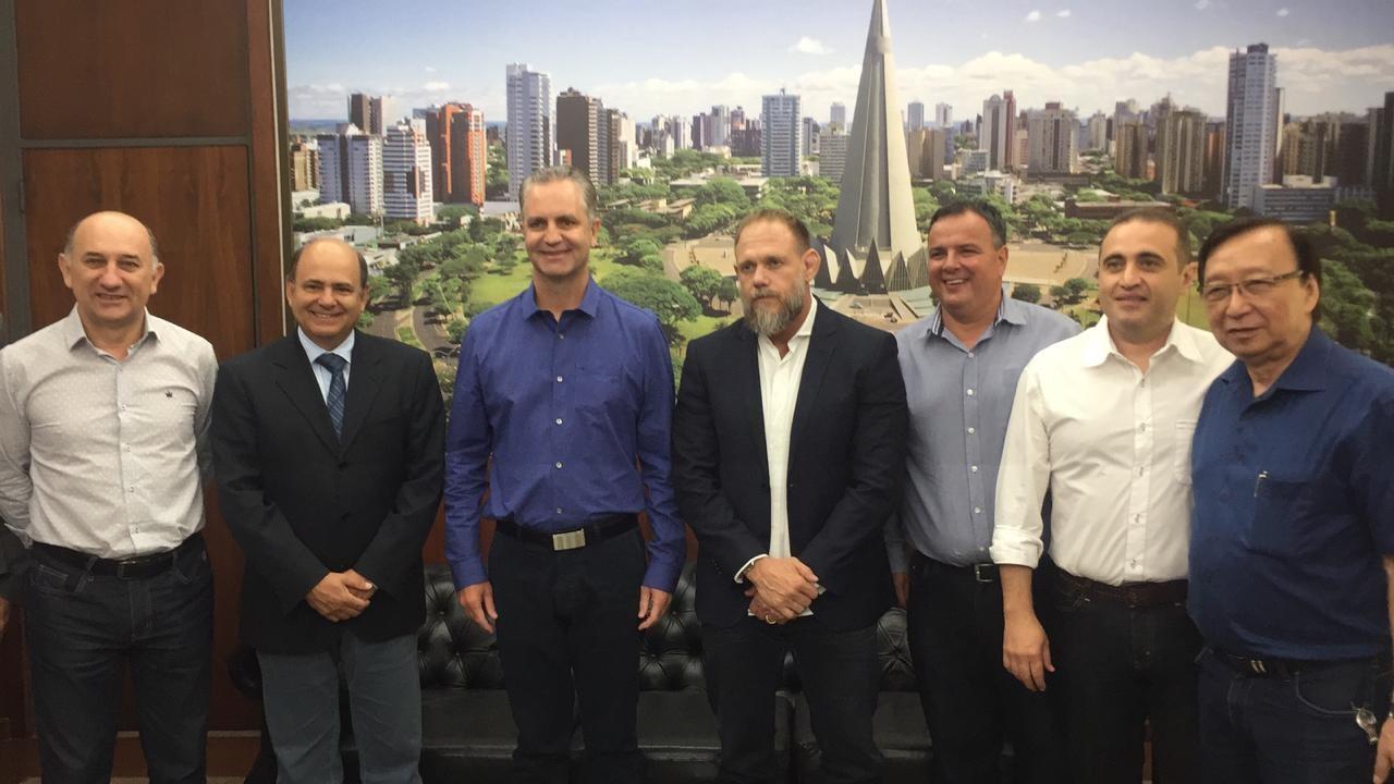 Novo secretário de Segurança Pública do Paraná visita Maringá
