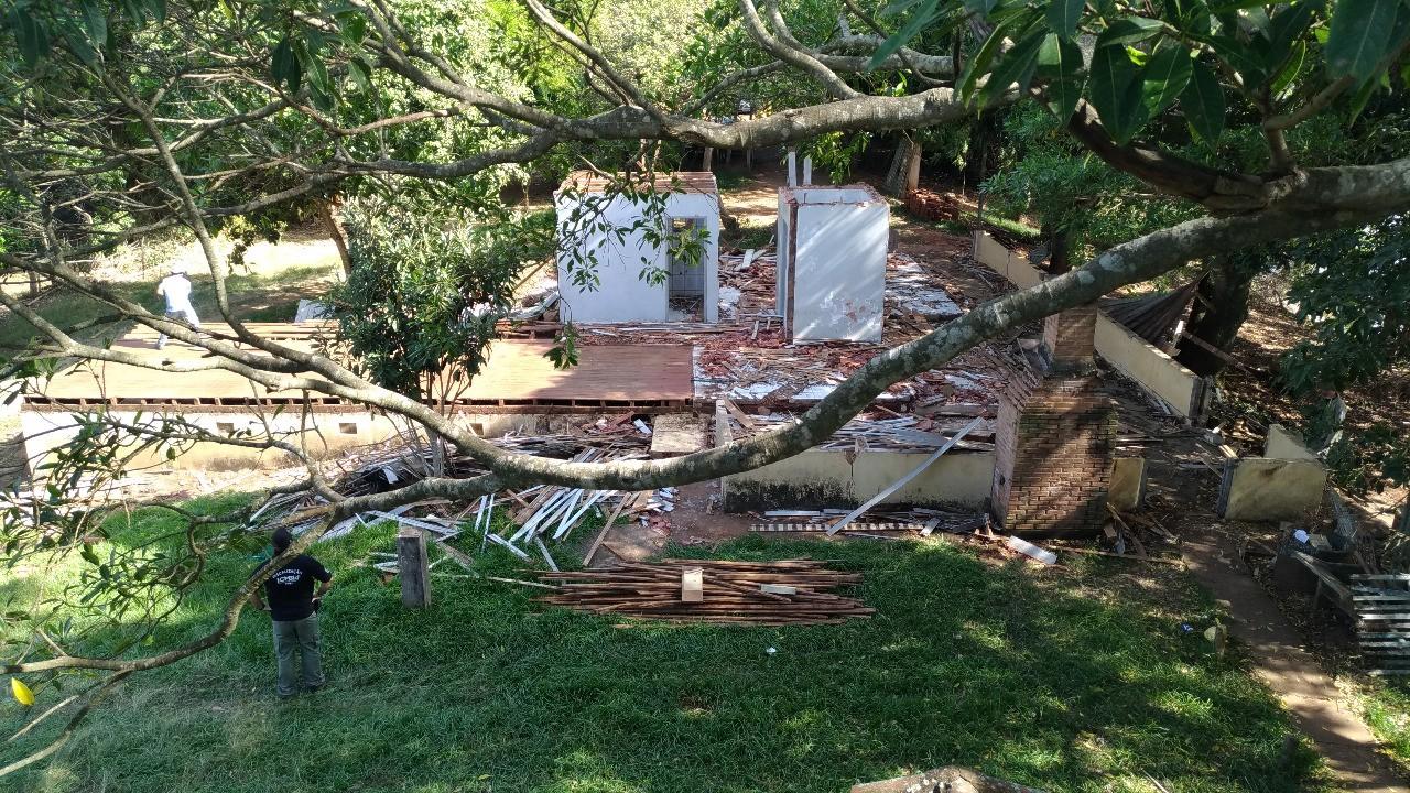 270 casas em Ilha Grande e às margens do Rio Paraná  foram demolidas desde 2014