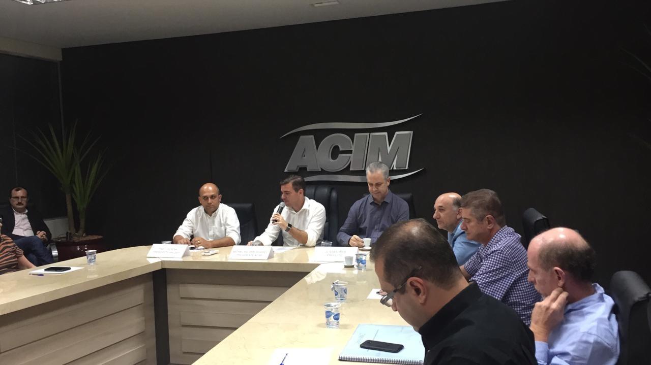 Acim e Amusep discutem a realização de projeto para duplicação de rodovia