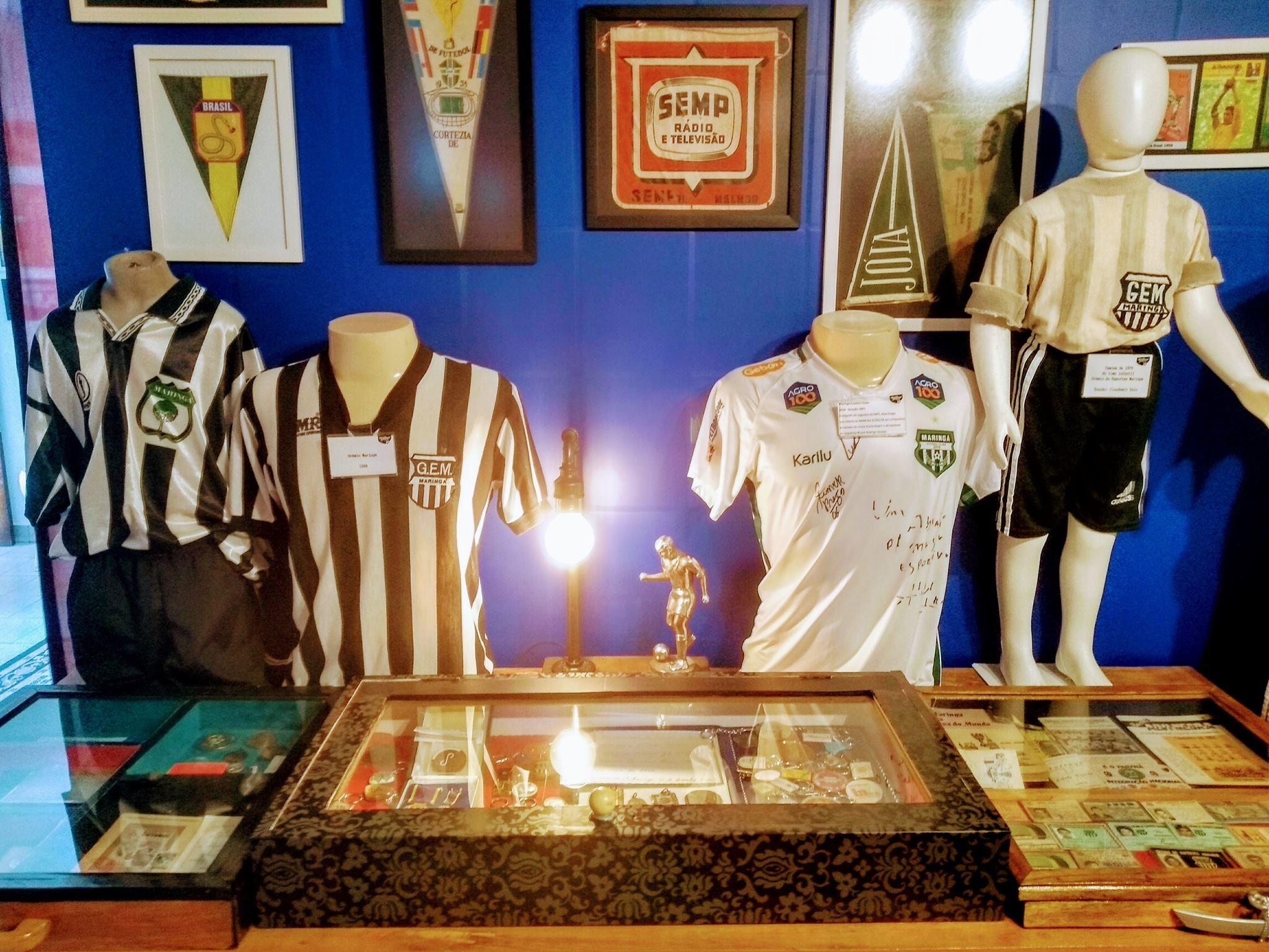 Camisetas históricas estarão em exposição no 'esquenta'do MFC
