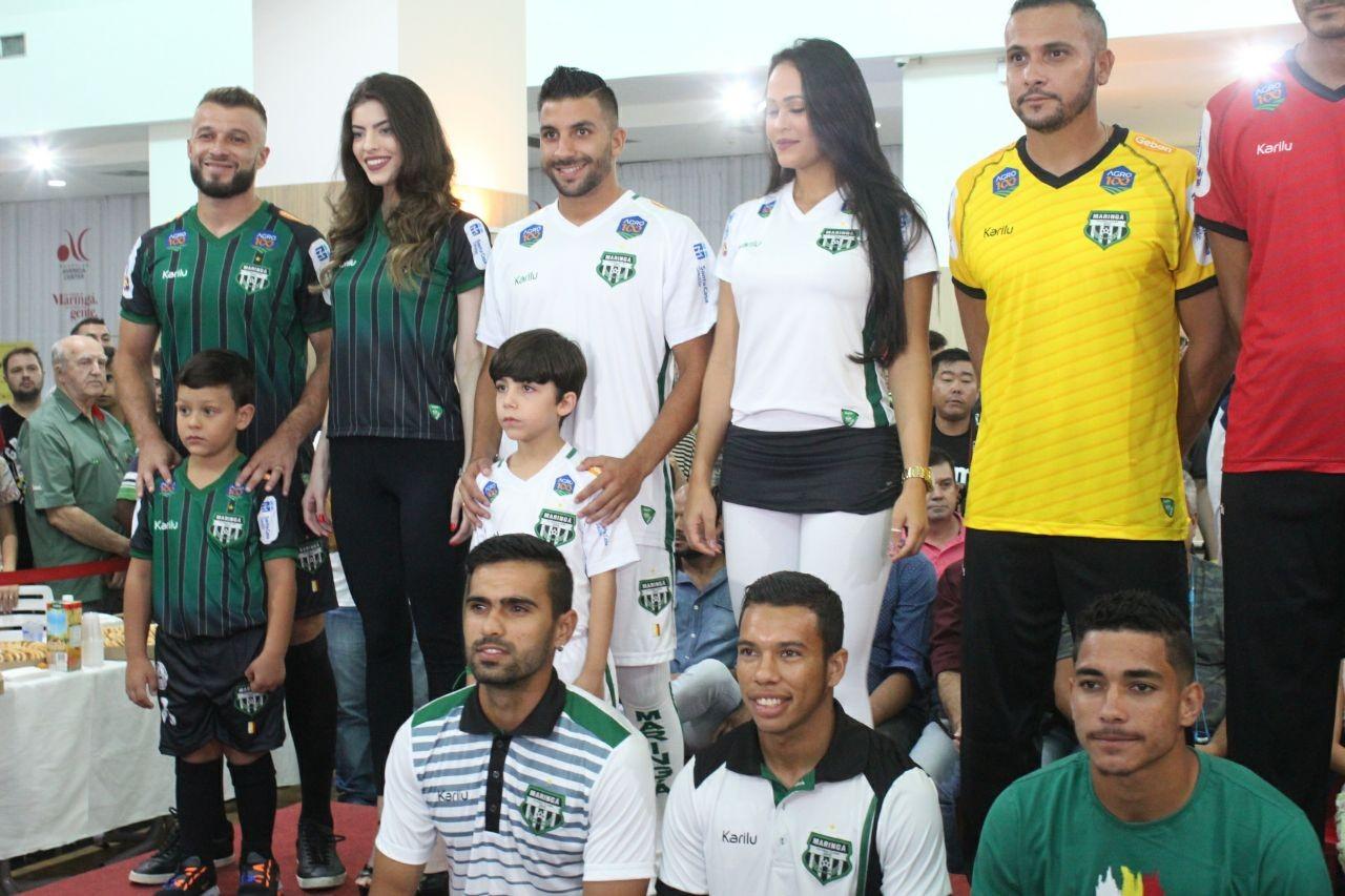De olho na estreia do Paranaense, Maringá FC apresenta novo uniforme