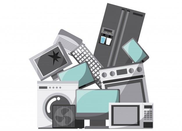 Escola faz coleta de lixo eletrônico