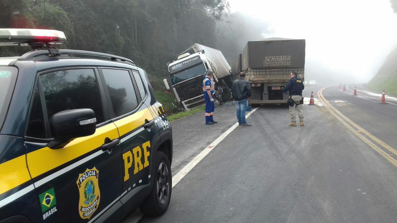 Quase 500 pessoas morreram em acidentes nas rodovias federais em 2018