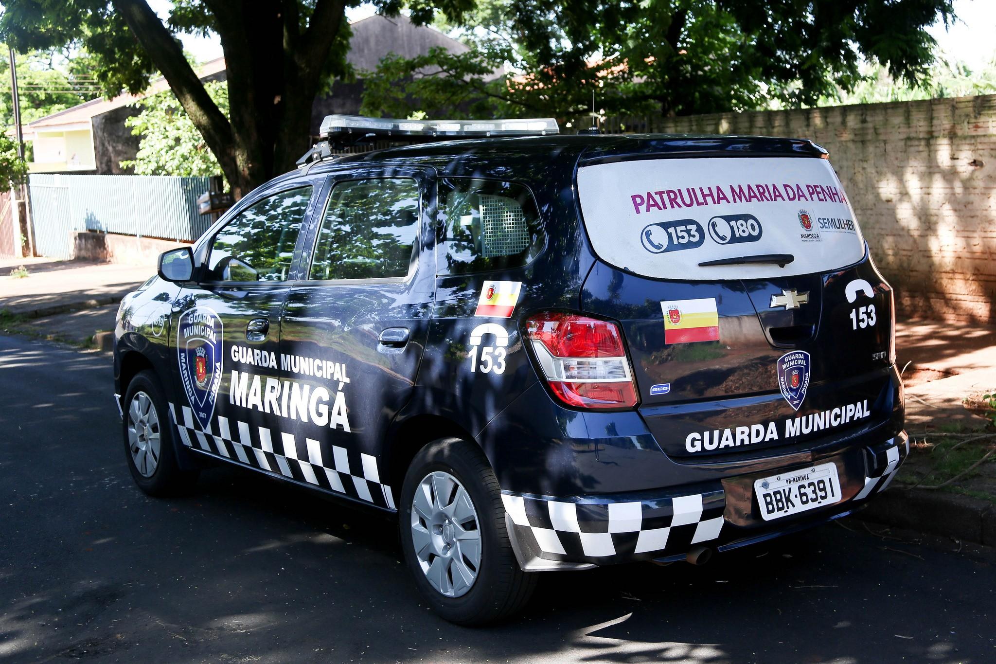 Oito homens foram presos pela Patrulha Maria da Penha em Maringá por desrespeitar medida protetiva