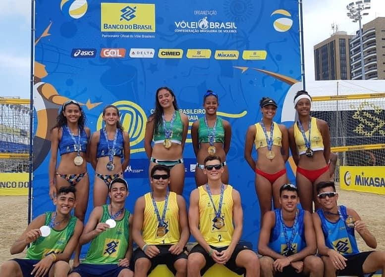 Equipe maringaense conquista 3º lugar no Brasileiro de Vôlei de Praia
