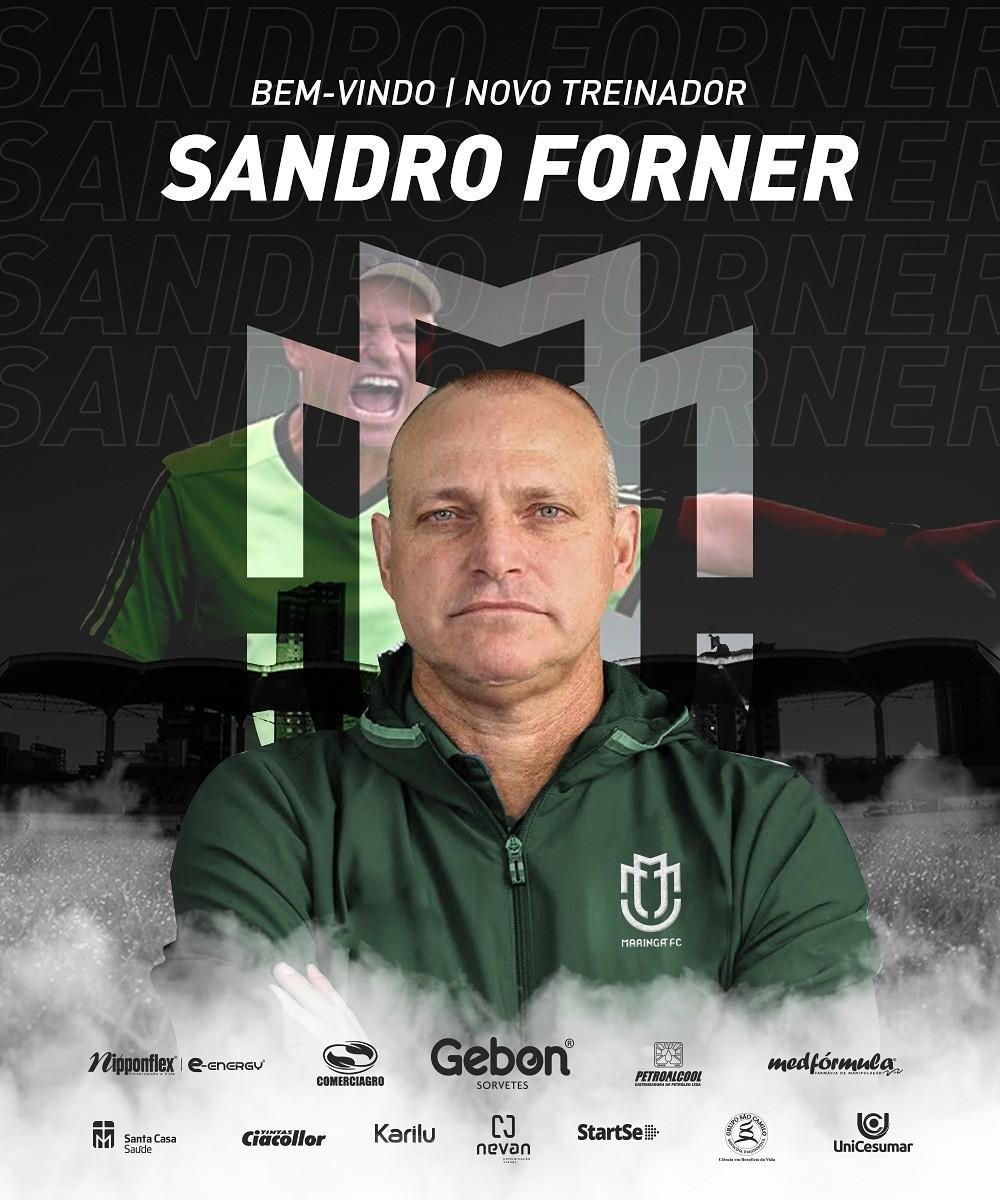 Sandro Forner é o novo técnico