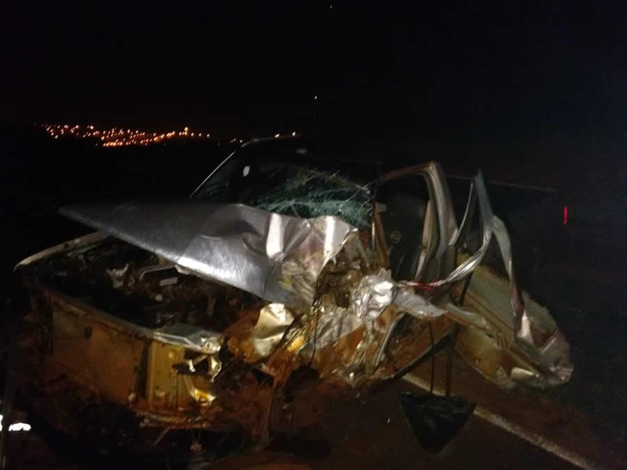 Casal morre atropelado na PR-471
