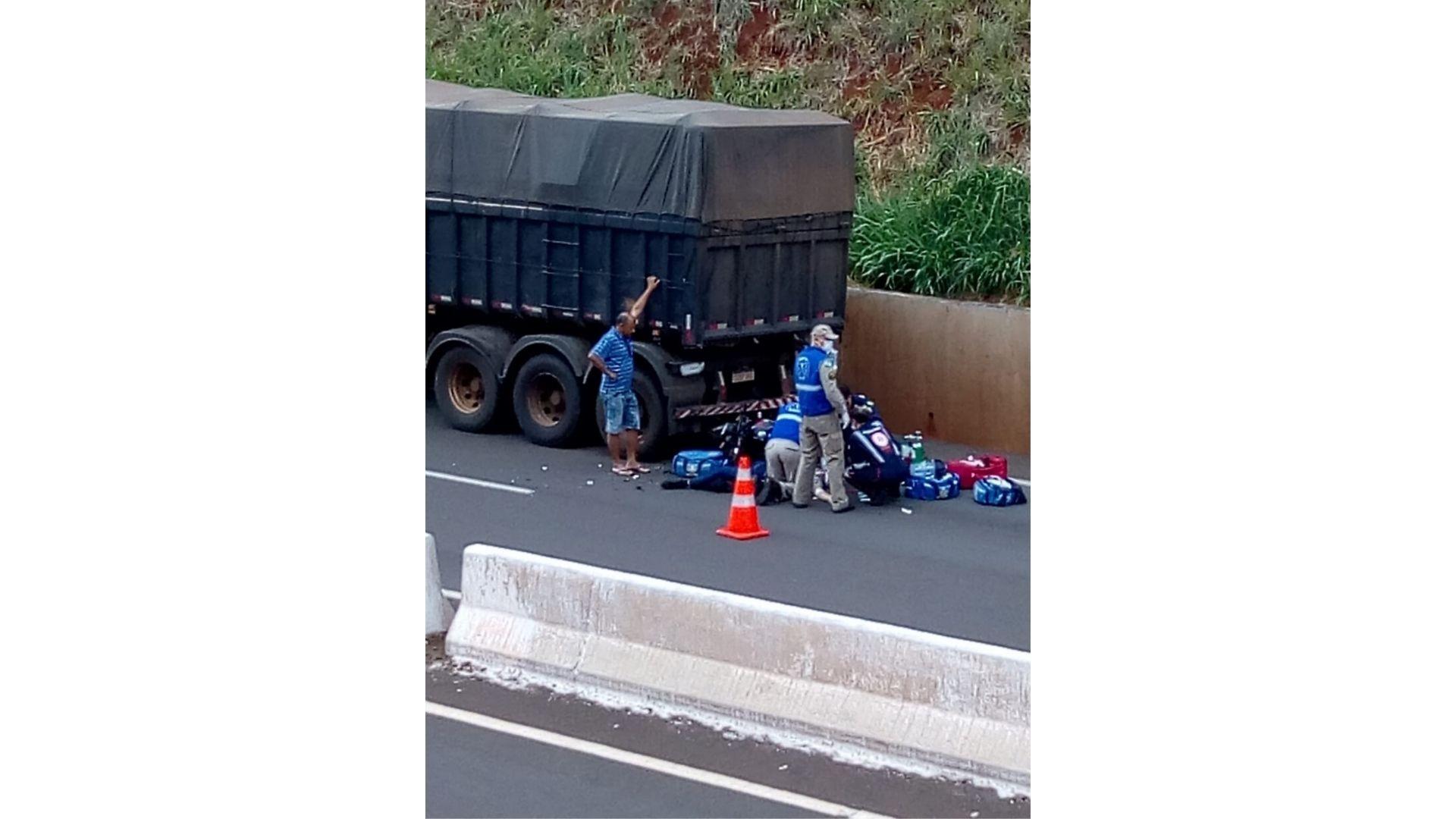 Motociclista morre em acidente no Contorno Norte