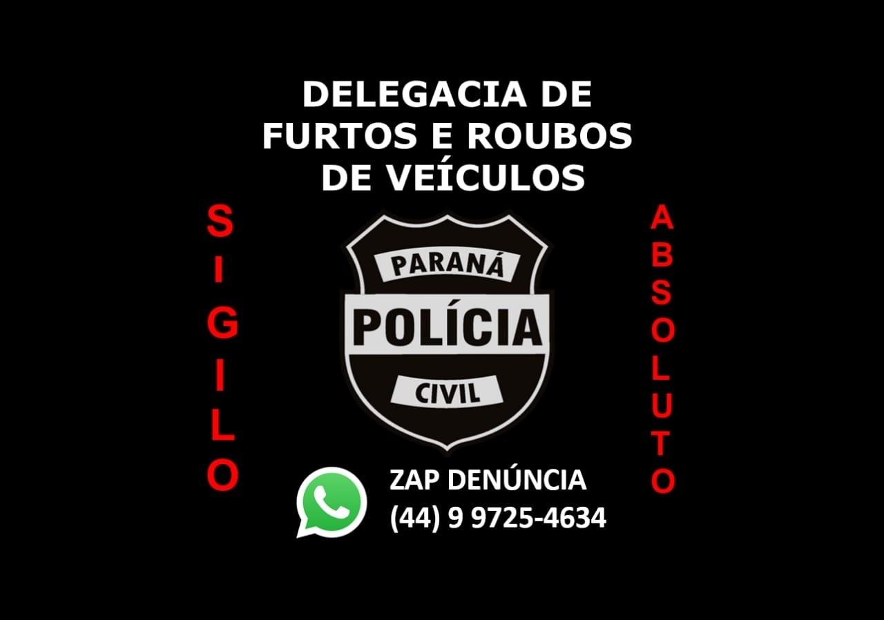 Polícia cria WhatsApp para denúncias de furtos e roubos de veículos