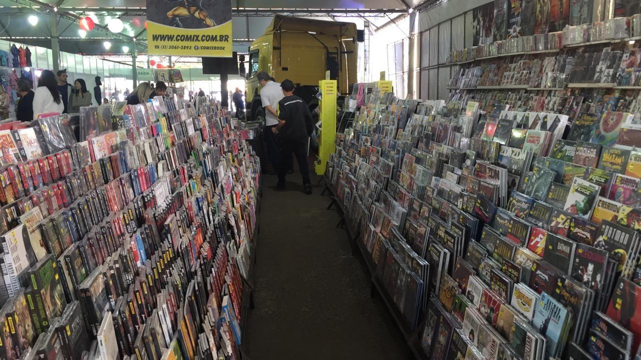 Maior loja de quadrinhos e mangás do Brasil está no festival, é a Comix