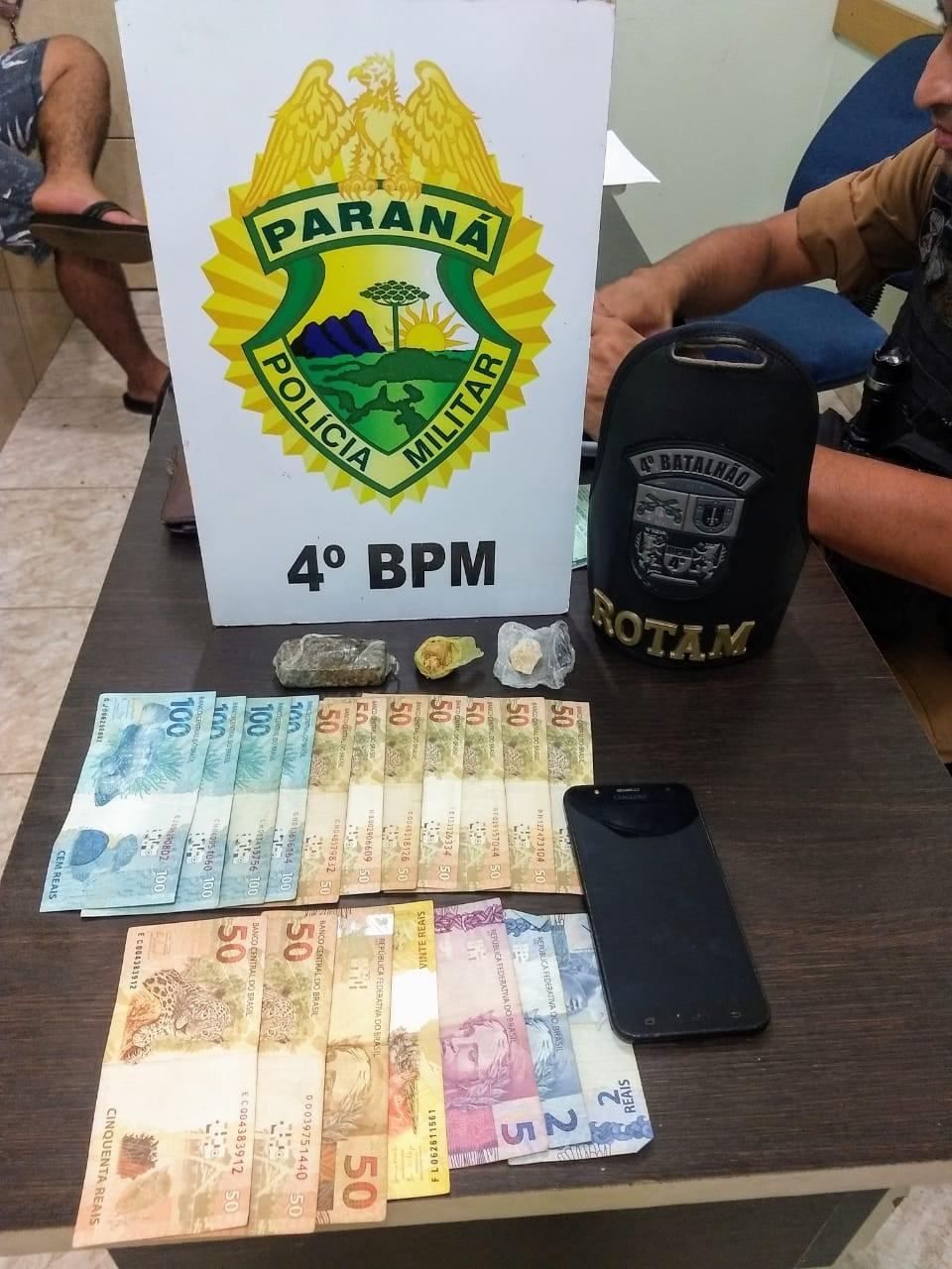 Jovem suspeito de tráfico é apreendido com droga na Vila Santa Isabel