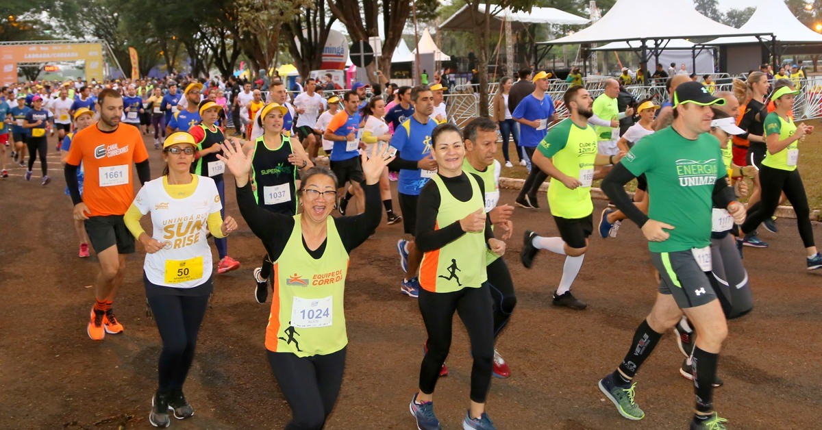 Corrida ao pôr do sol do Paraná Running será em novembro