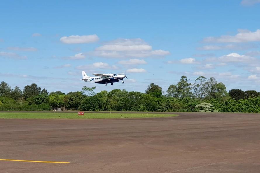 Programa teve início nesta terça-feira (22) com voo saindo de Campo Mourão