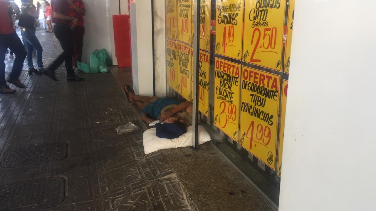 Em 197 abordagens, apenas 20 moradores de rua aceitaram ir para o albergue