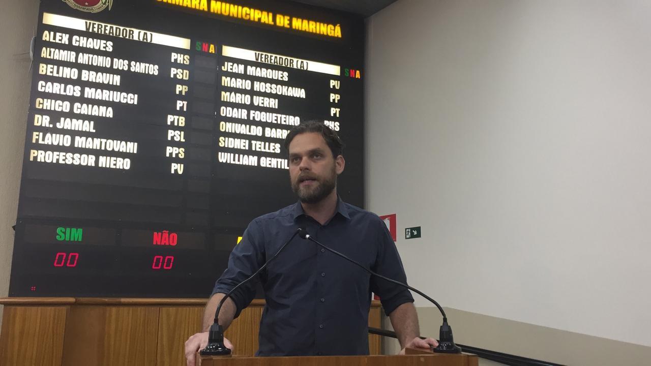 Deputado estadual que defende o uso da bicicleta está em Maringá