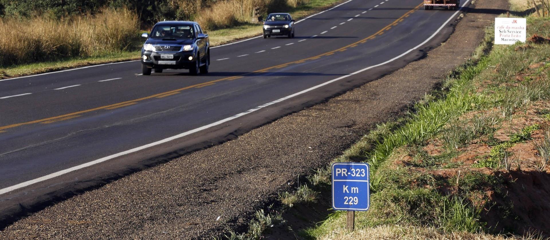 Trecho da rodovia PR-323 será interditado para detonação de rocha nessa quinta-feira (12)
