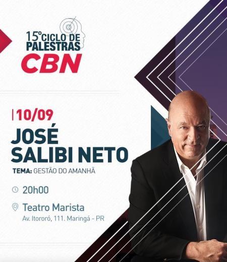 Ciclo de Palestras CBN traz José Salibi Neto a Maringá