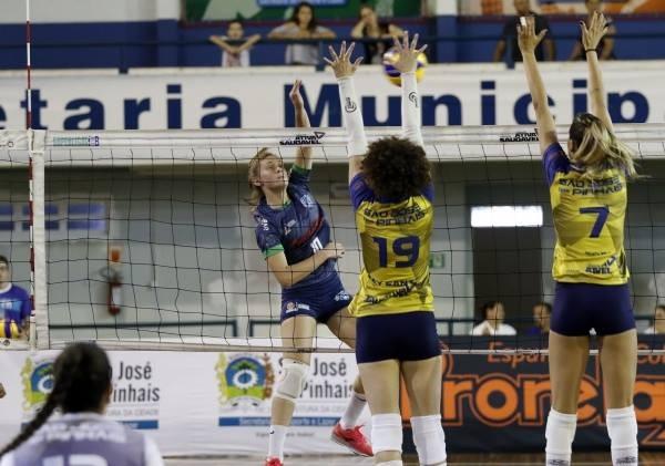 Amavolei tem duas vitórias em dois jogos pela Superliga B