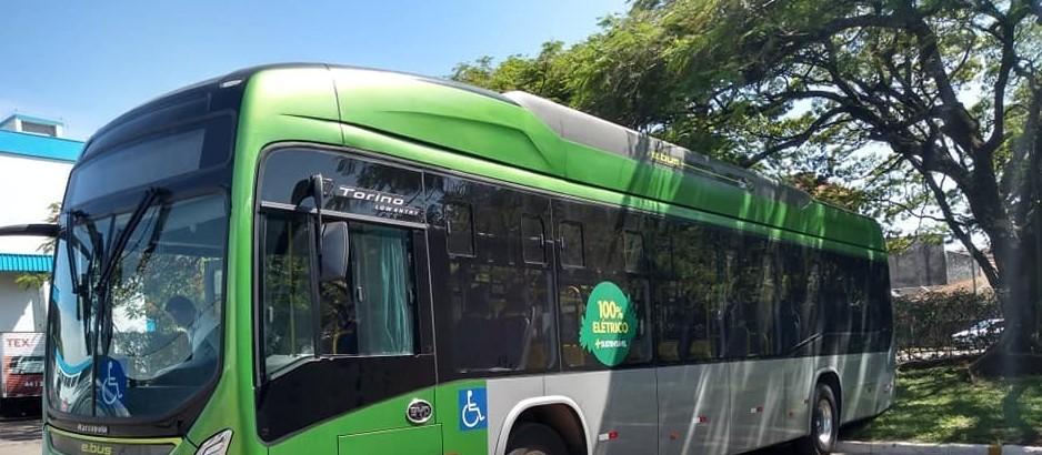 Ônibus elétrico começa a rodar na semana que vem