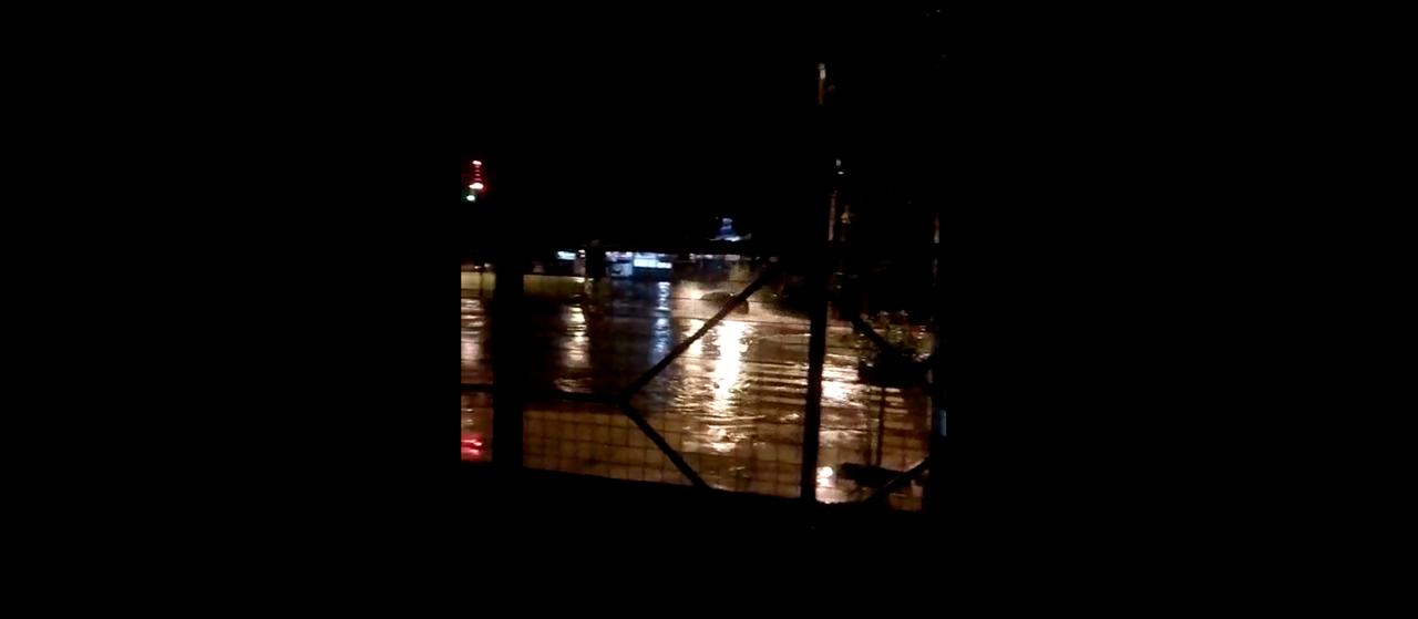 Ouvinte registrou alagamento na Avenida Morangueira durante tempestade