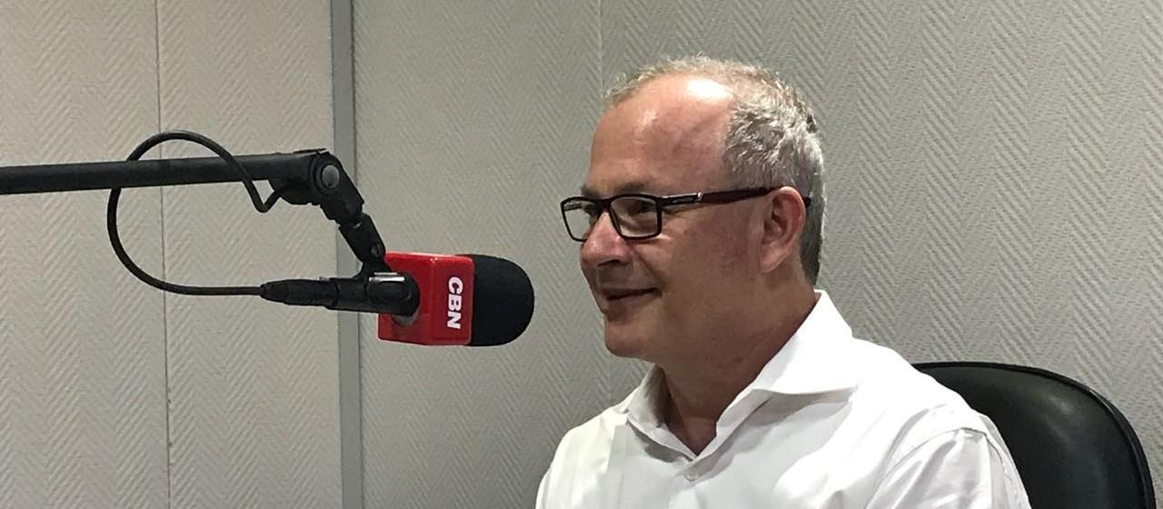 Reitor da UEM, Mauro Baesso, faz avaliação dos últimos quatro anos