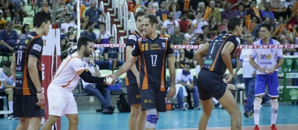 Copel Telecom perde e é rebaixado na Superliga