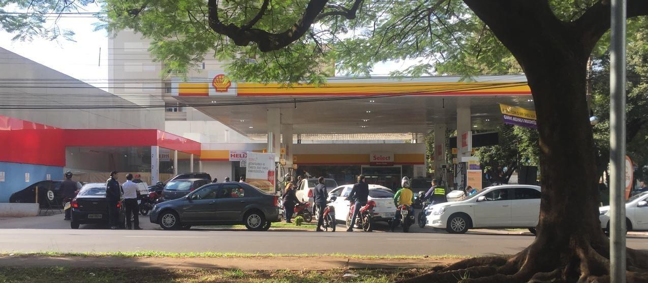 Sete postos  já repassam desconto integral no preço do diesel