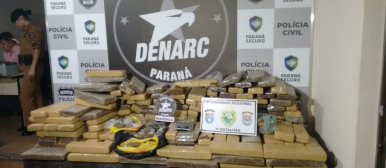 Denarc apreendeu mais cocaína e drogas de baladas em 2018 em Maringá