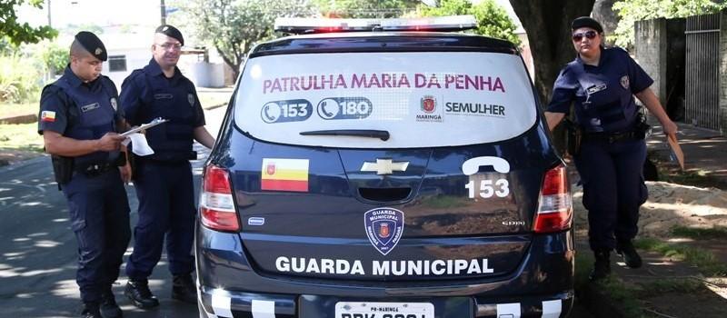 Em Maringá, patrulha Maria da Penha atendeu 1.409 casos em 2018