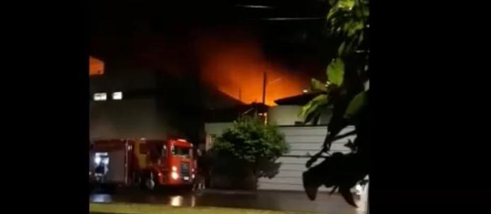 Causas de incêndio em hospital de Ivaiporã estão sendo apuradas