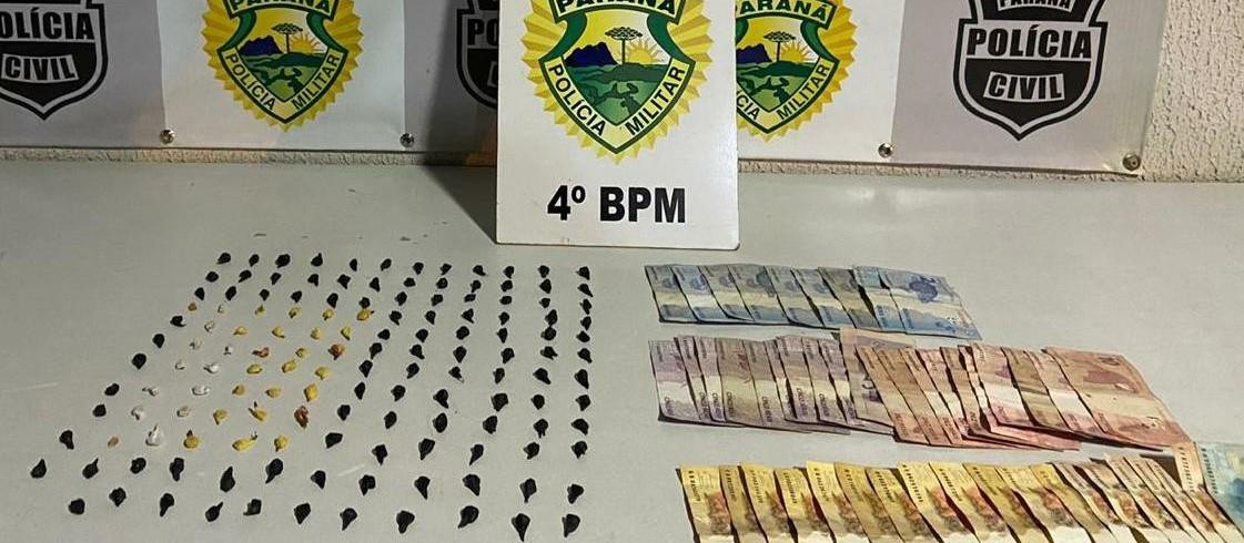 Polícia Militar também cumpre mandados de busca em operação contra o tráfico