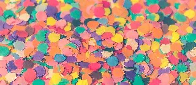 Confete natural promete trazer a sustentabilidade para o carnaval
