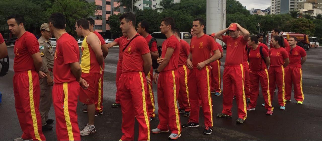 Bombeiros disputam Olimpíada em Maringá