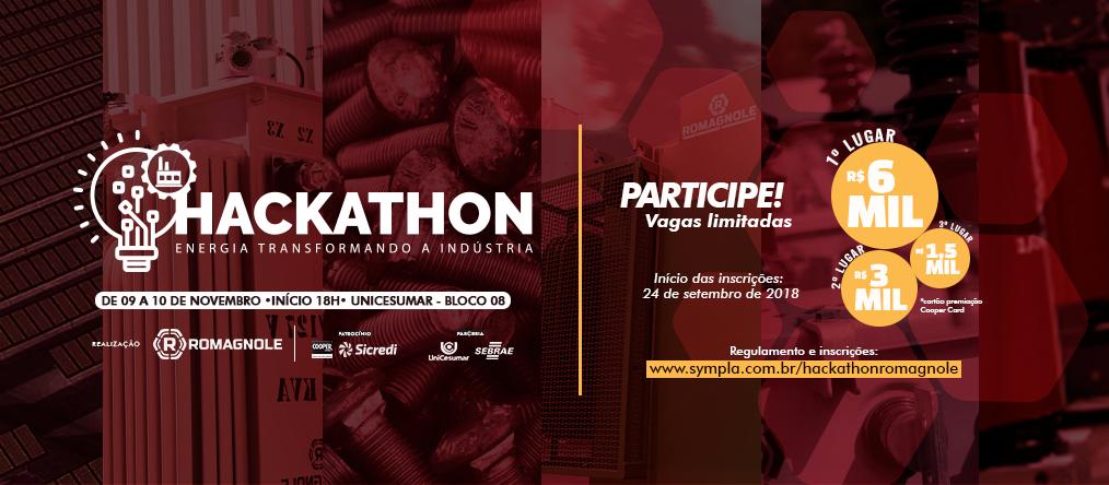 Quase 30 equipes disputam Hackathon industrial em Maringá