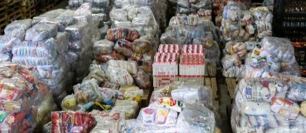 Provopar arrecada mais de 60 toneladas de alimentos