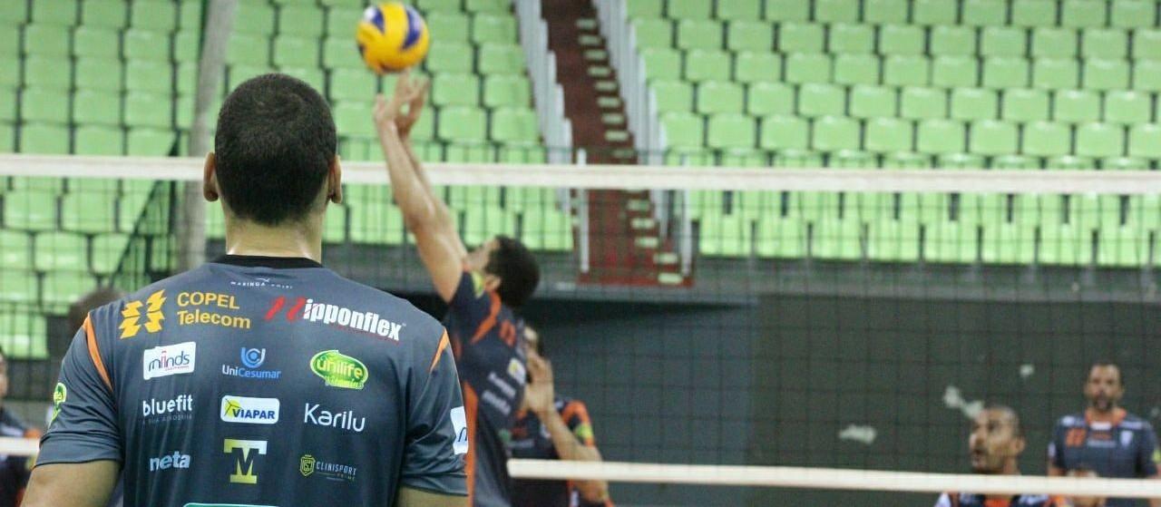 Com classificação garantida, Copel Maringá ainda tem quatro jogos