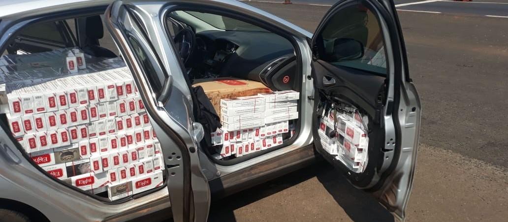 12,5 mil maços de cigarros são apreendidos na PR-317 em Floresta