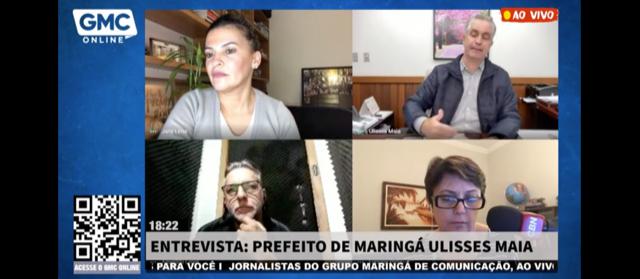'Estamos planejando ir voltando à normalidade em agosto', diz prefeito de Maringá