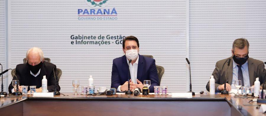 Saiba as novas medidas do Governo do Paraná contra a Covid-19